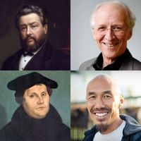 Charles H. SPURGEON, John PIPER, Martin Luther, Francis CHAN